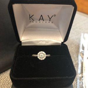 Diamond Engagement Ring Size 6